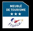 logo Meublé 3 étoiles